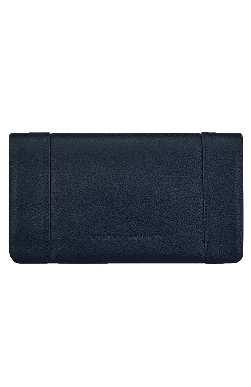 Some Type Of Love Wallet Navy Blue Status Anxiety - Jean Jail