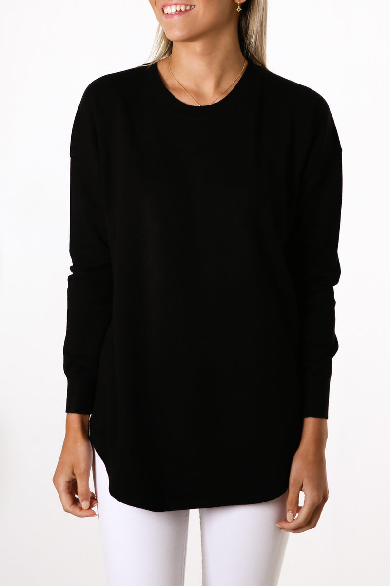 Sophie Knit Jumper Black