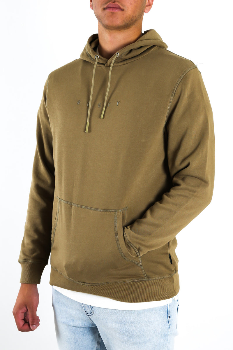Special Cut Hood Fleece Covert Green