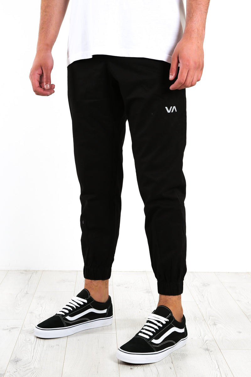 Spectrum Cuffed Pant Black