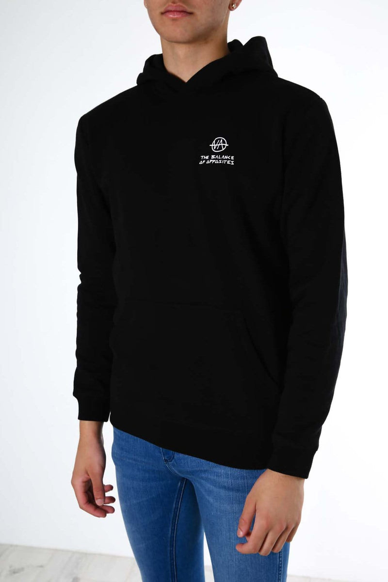 Split Decision Pullover Black RVCA - Jean Jail