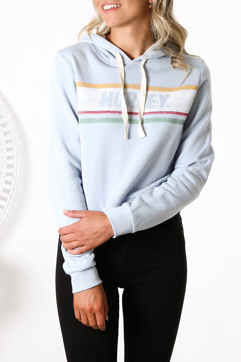 Sporty Stripes Perfect Fleece LT Armory Blue