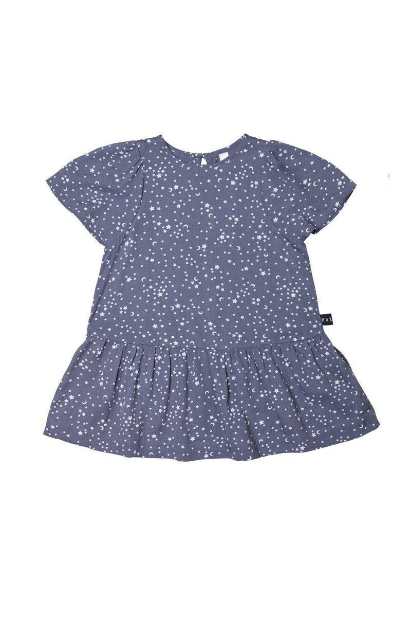 Star Tencel Mia Dress Deep Blue