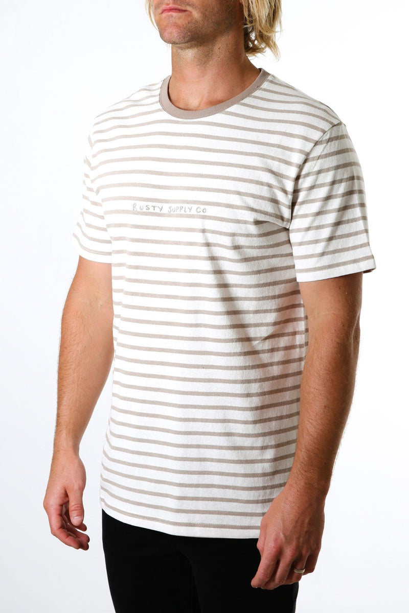 Subway Short Sleeve Tee Latte