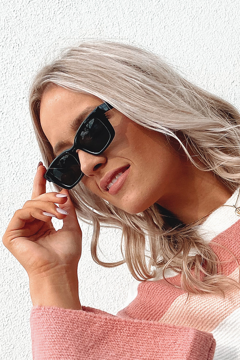 Damelio Sunglasses // Black
