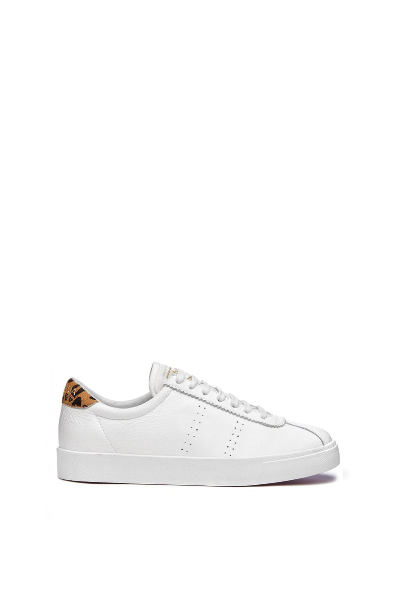 2843 CLUBS Comfleau White Leopard Superga - Jean Jail