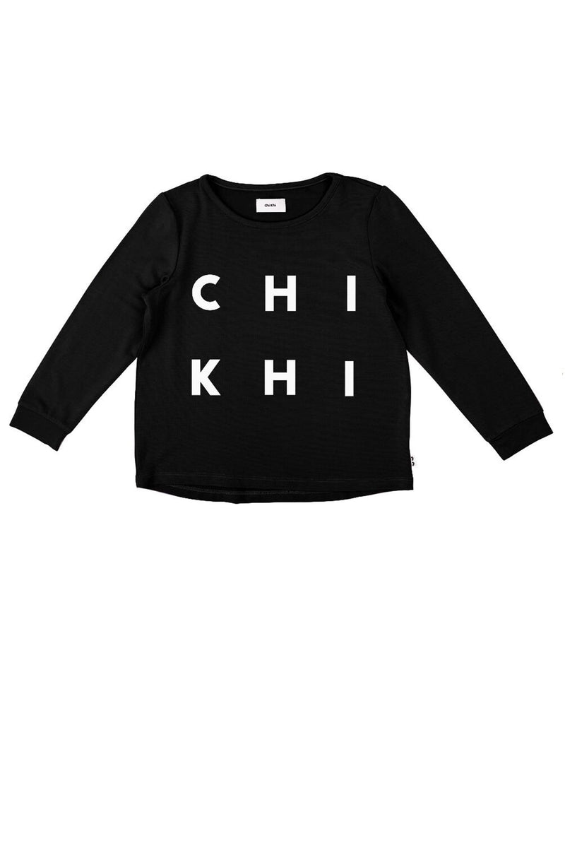 The J Tee Black Chi Khi