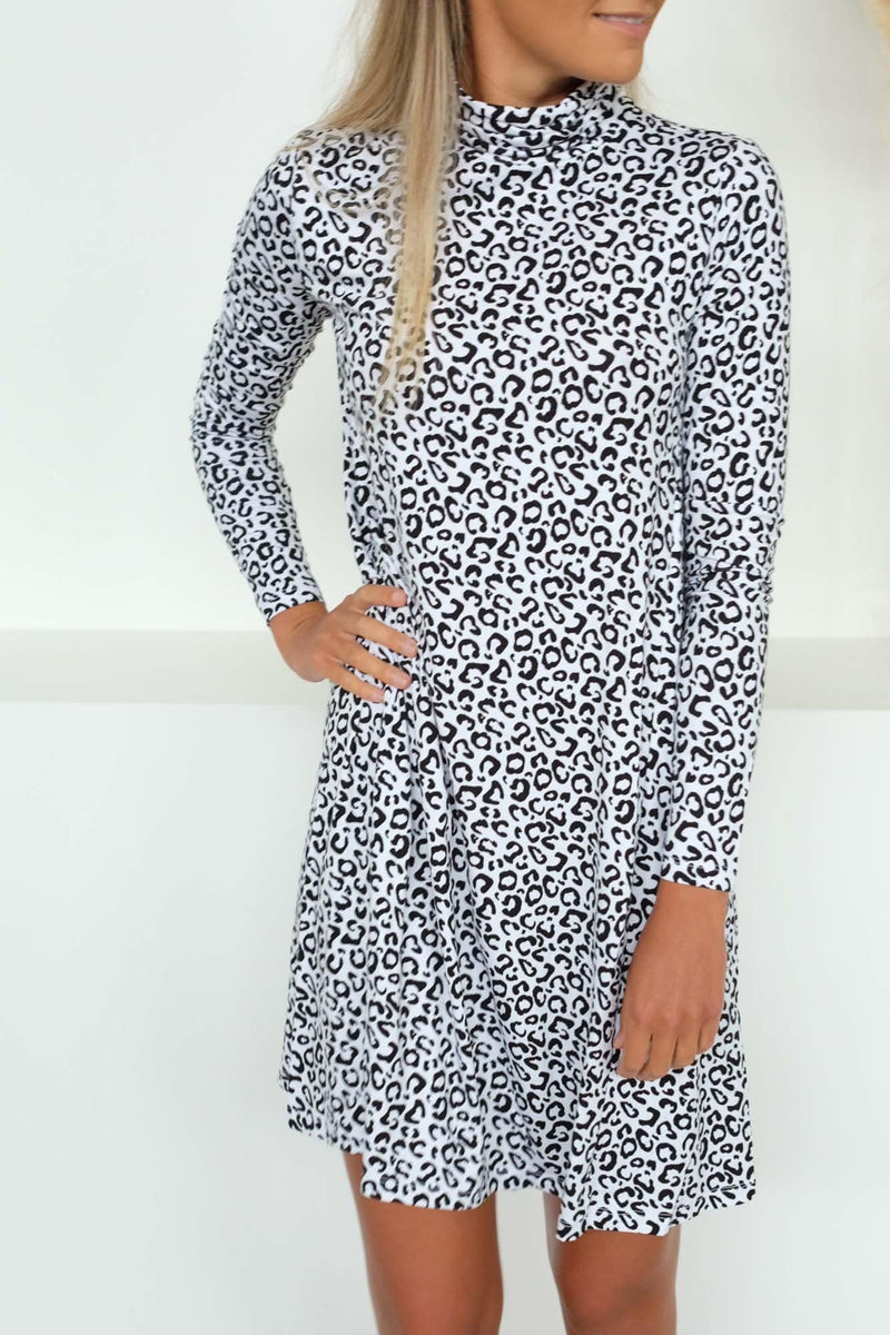 Toronto Dress Leopard Betty Basics - Jean Jail