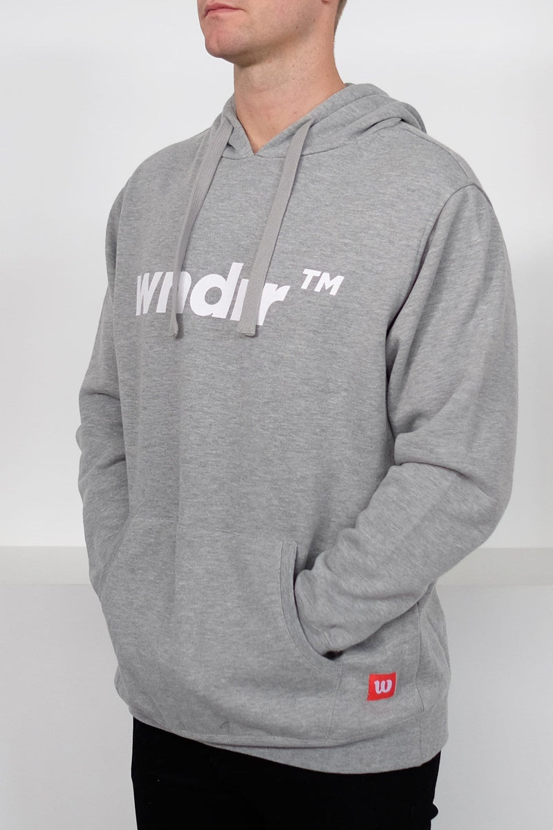 Trademark Hood Sweat Grey Marle WNDRR - Jean Jail