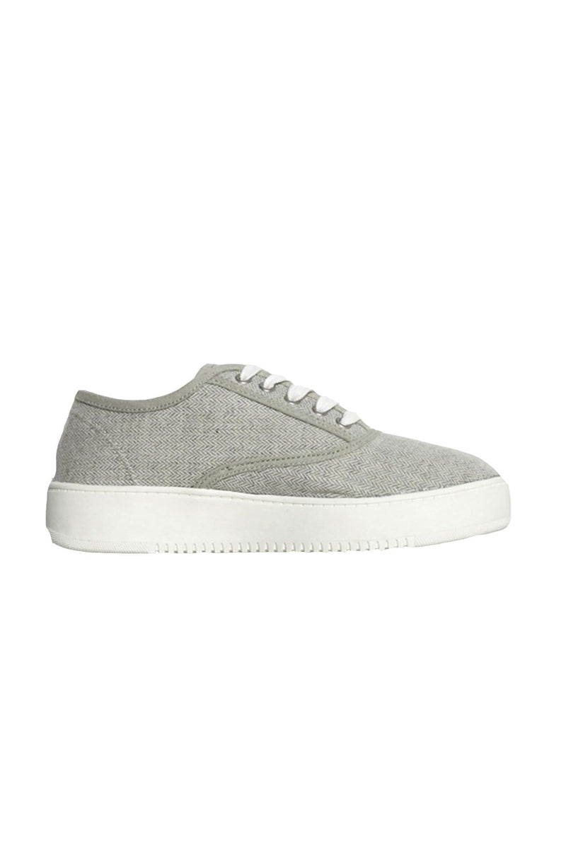 Traveler Sneaker Grey Herringbone Betty Basics - Jean Jail