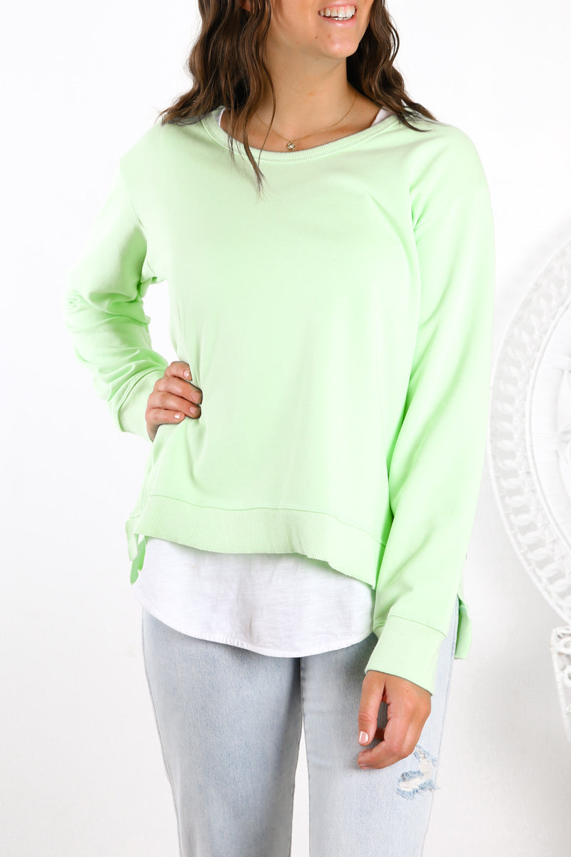 Ulverstone Sweater Neon Mint