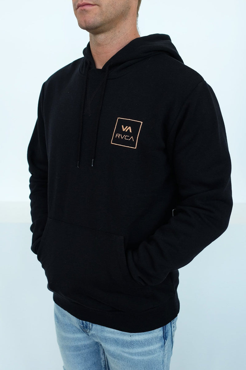 VA All the Ways Pullover Hood Black RVCA - Jean Jail