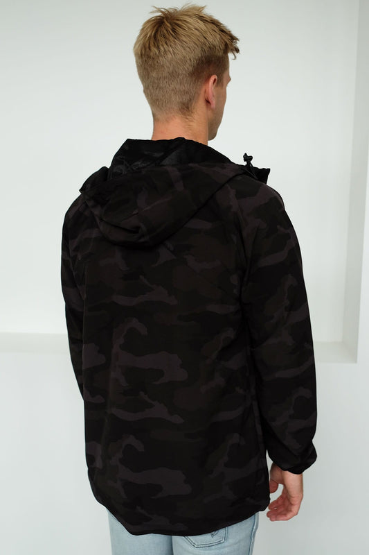 947b8444d VA Windbreaker Black Camo RVCA - Jean Jail