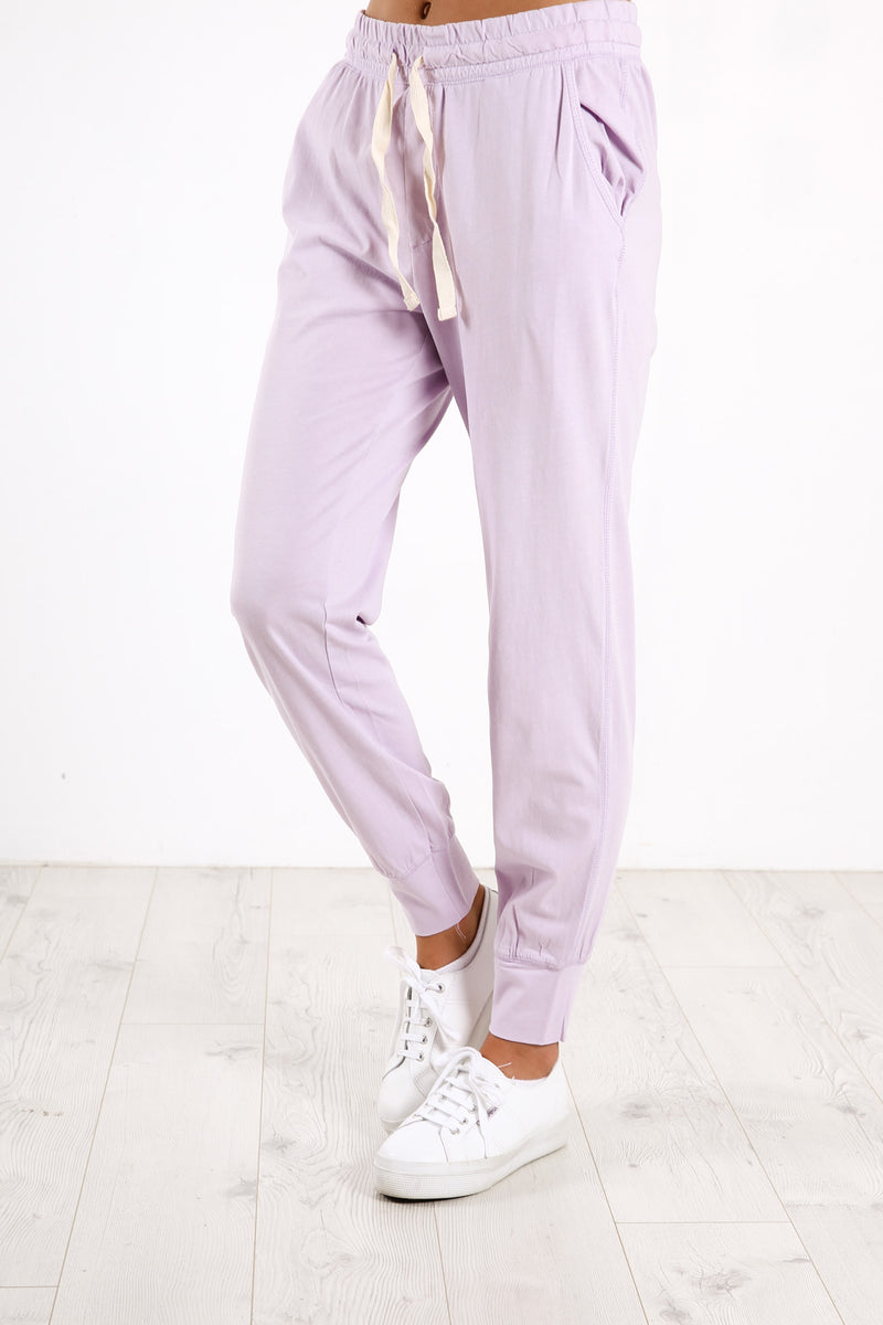 Wash Out Lounge Pant Lilac