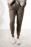 Wash Out Lounge Pant Sage Green