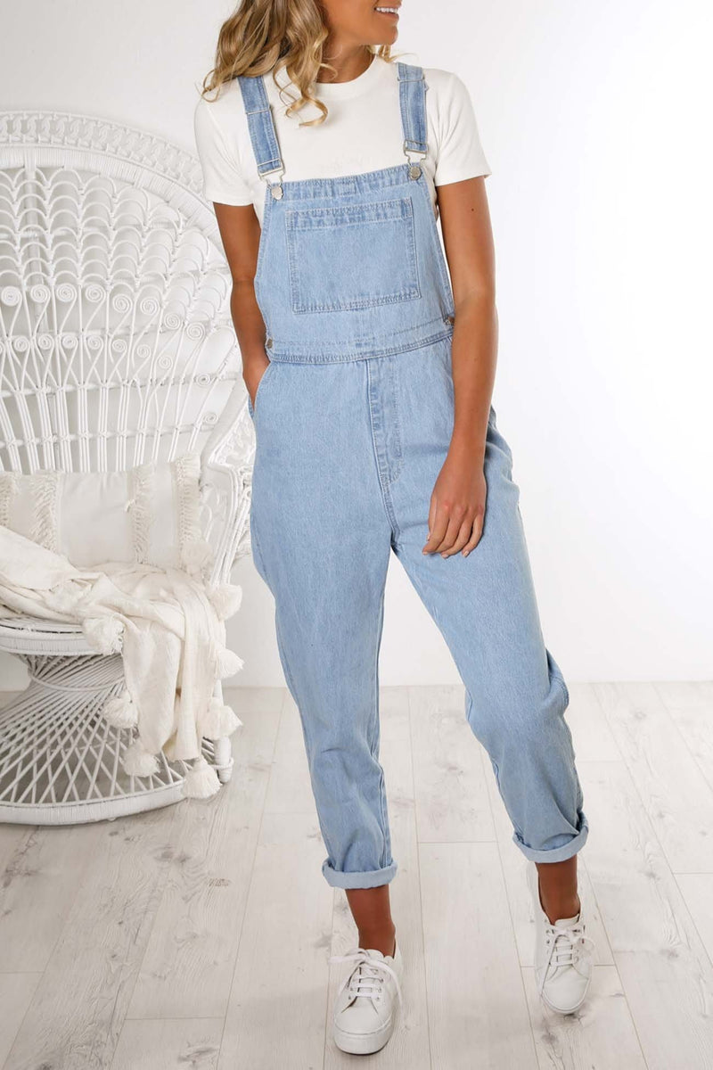 When It Gets You Overall Blue Jean Jail - Jean Jail