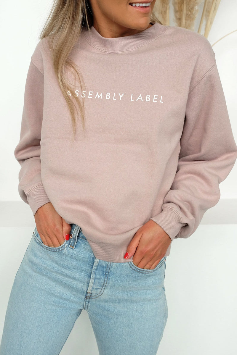 Womens Logo Fleece Fawn Assembly Label - Jean Jail