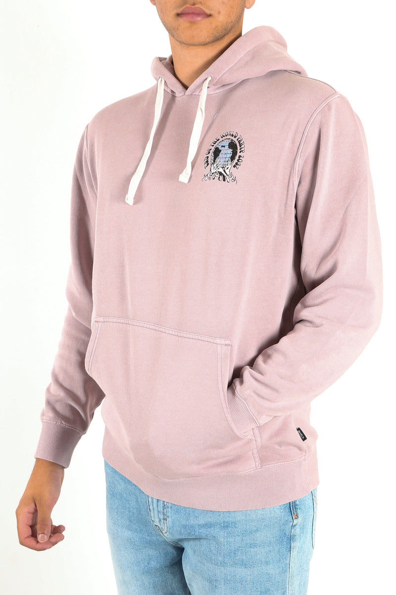 World Party Pullover Pale Mauve
