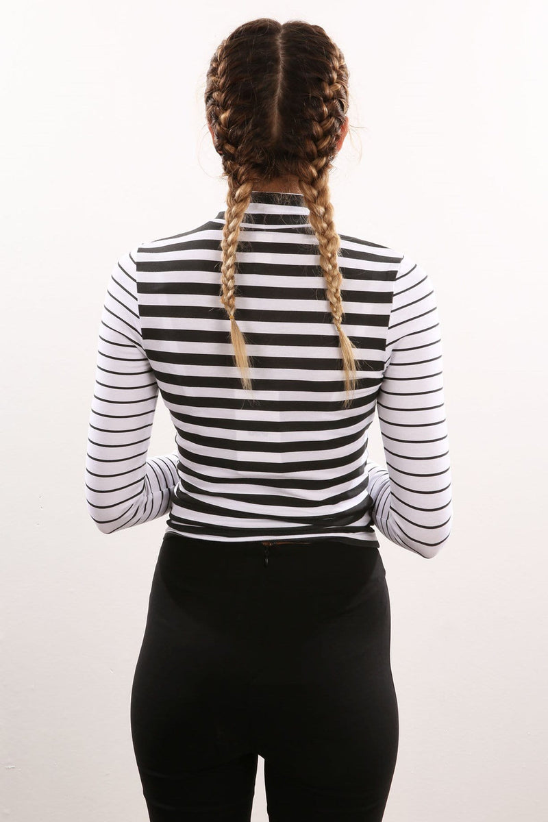 Stripe Out Longsleeve Tee White Stripe Lee - Jean Jail