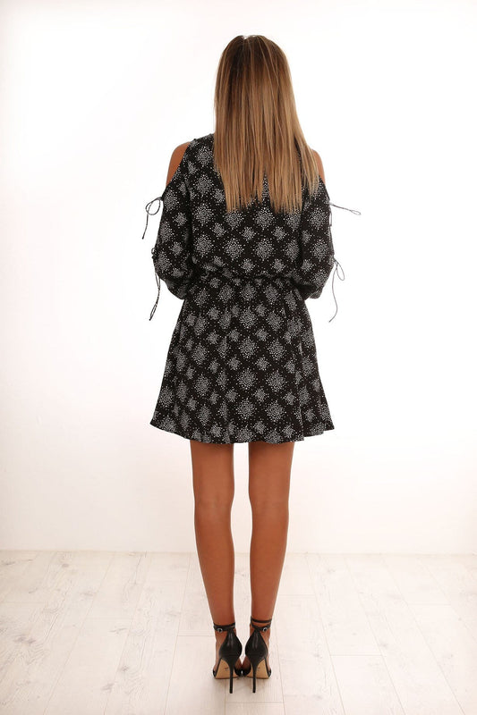 Emergent Dress Black Firefly