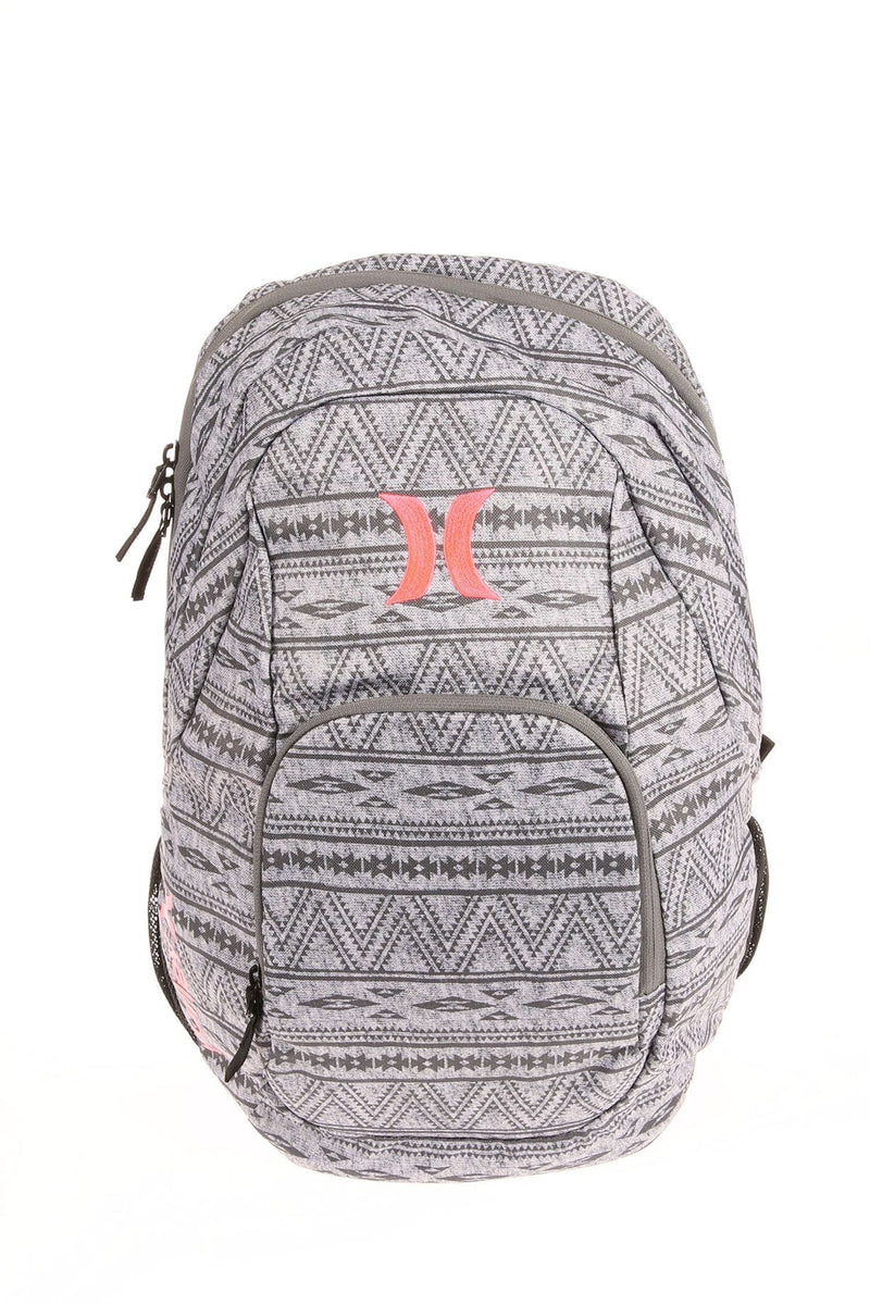 One & Only Printed Bag Cool Grey Hot Punch Hurley - Jean Jail