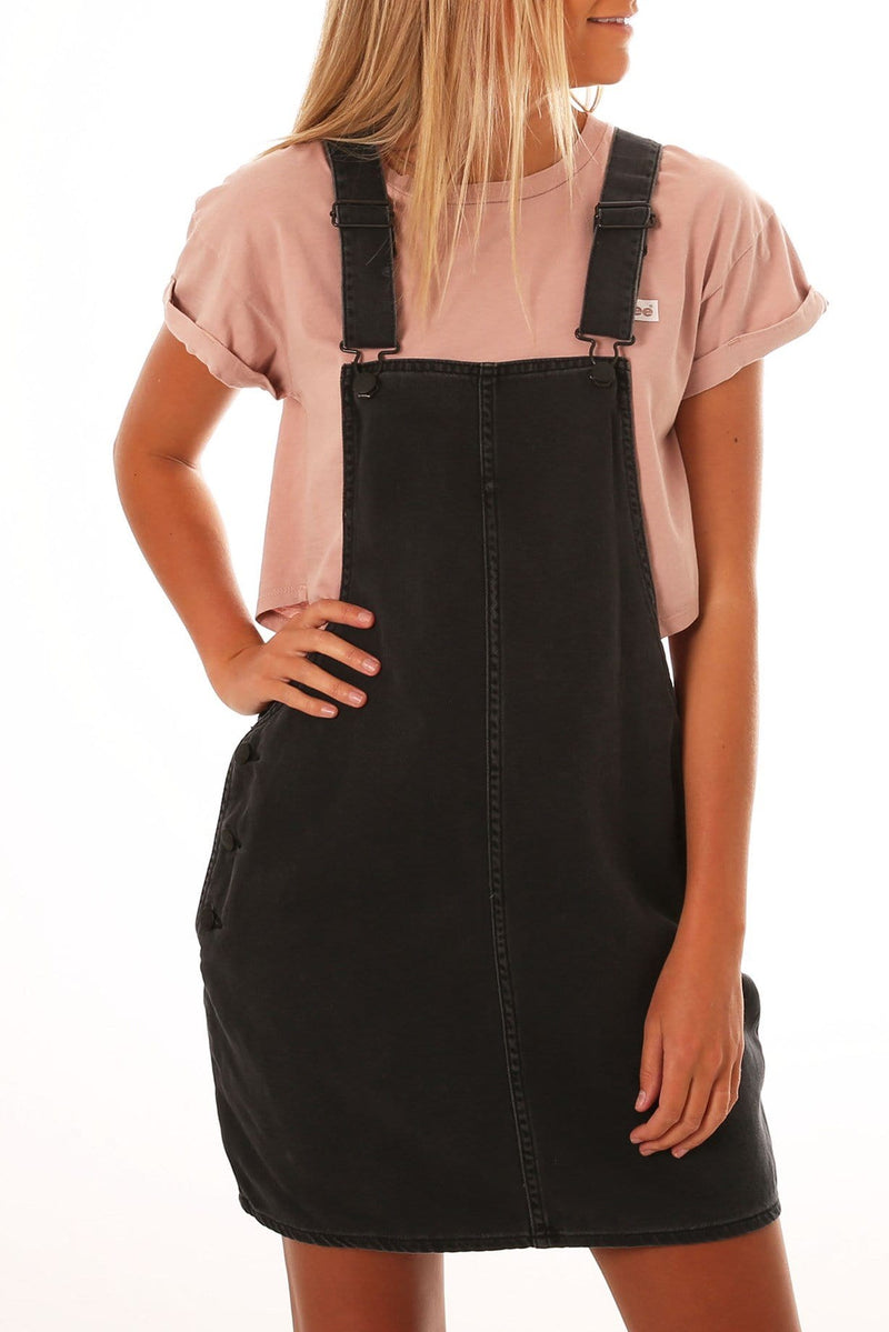 Pinni Overall Aura Black Lee - Jean Jail