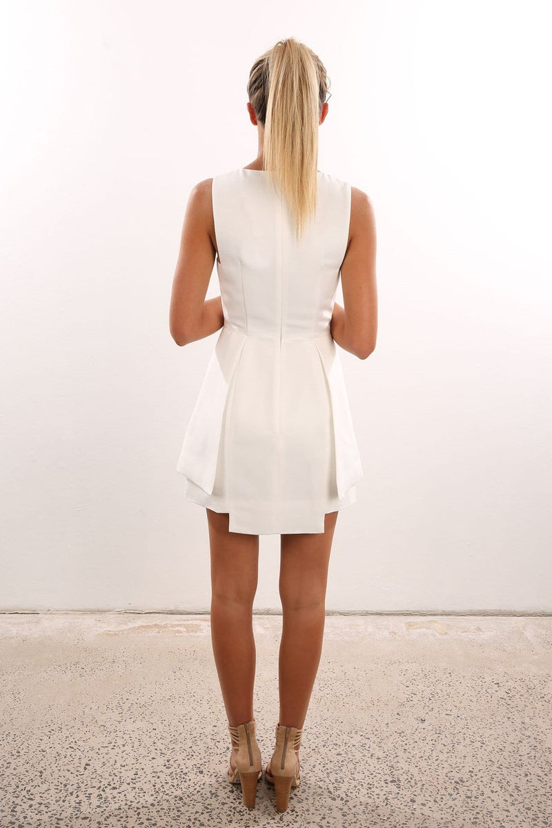 The Frame Dress White Finders Keepers - Jean Jail