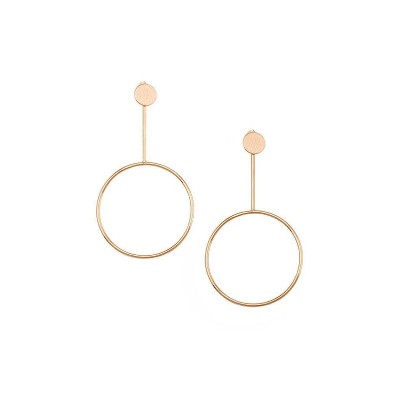 Koko Earrings Rose Gold Jolie & Deen - Jean Jail