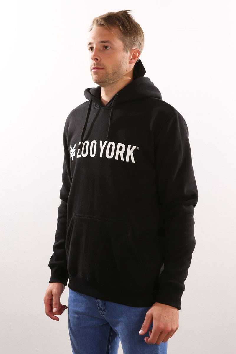 Straight Core Pop Hood Jet Black Zoo York - Jean Jail