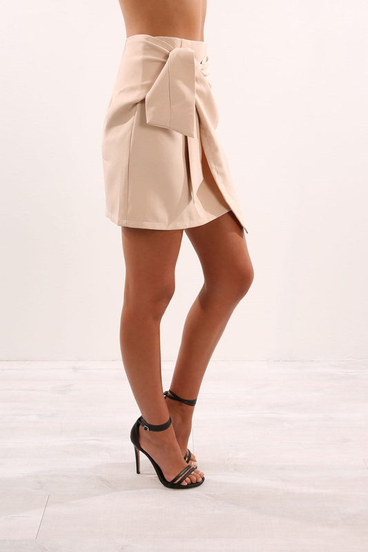 Independent Woman Skirt Beige