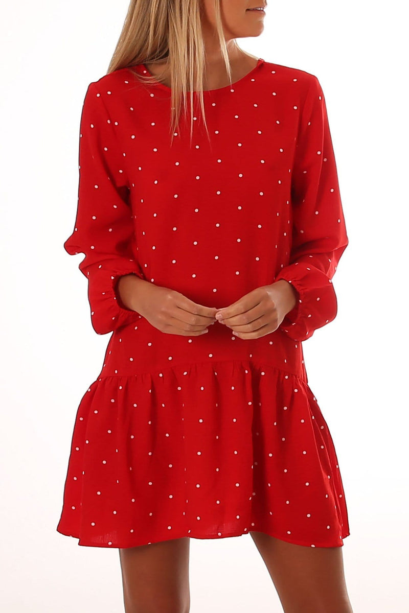 Minnie Dress Red Jean Jail - Jean Jail