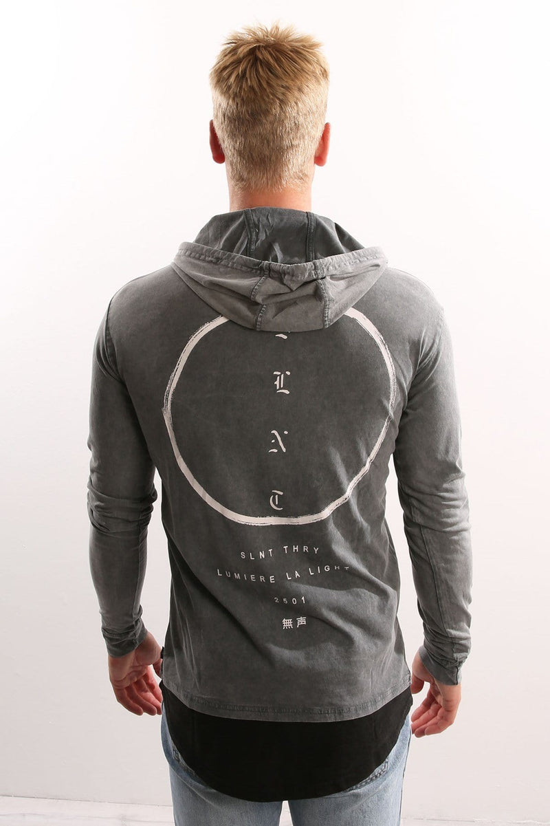 Restricted Long Sleeve Tee Charcoal Silent Theory - Jean Jail