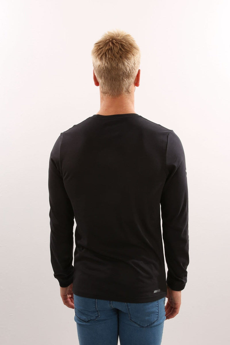 Icon Punch Dri-Fit Long Sleeve T-Shirt Black Hurley - Jean Jail