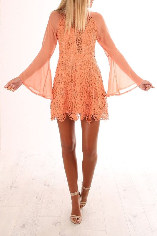 Chrysalis Dress Orange
