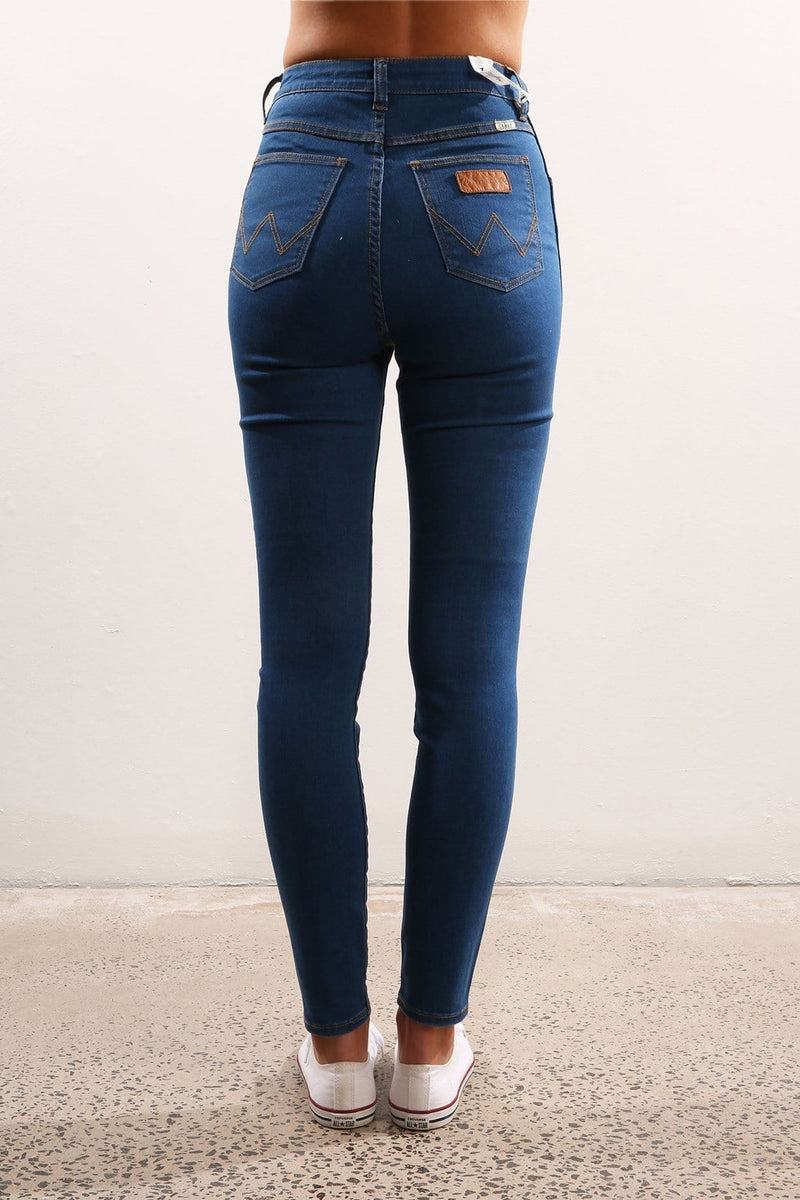 Hi Pins Jean Twist Blue Wrangler - Jean Jail
