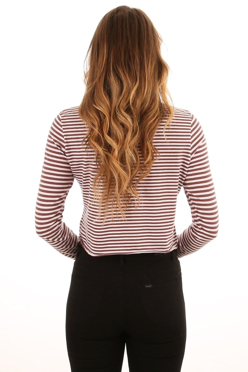 Count Down Long Sleeve Tee Stripe