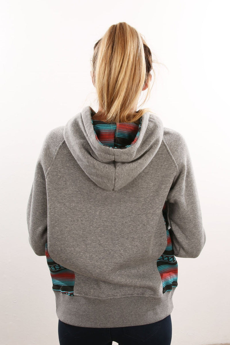 Serape Pop Hoody Heather Grey Santa Cruz - Jean Jail