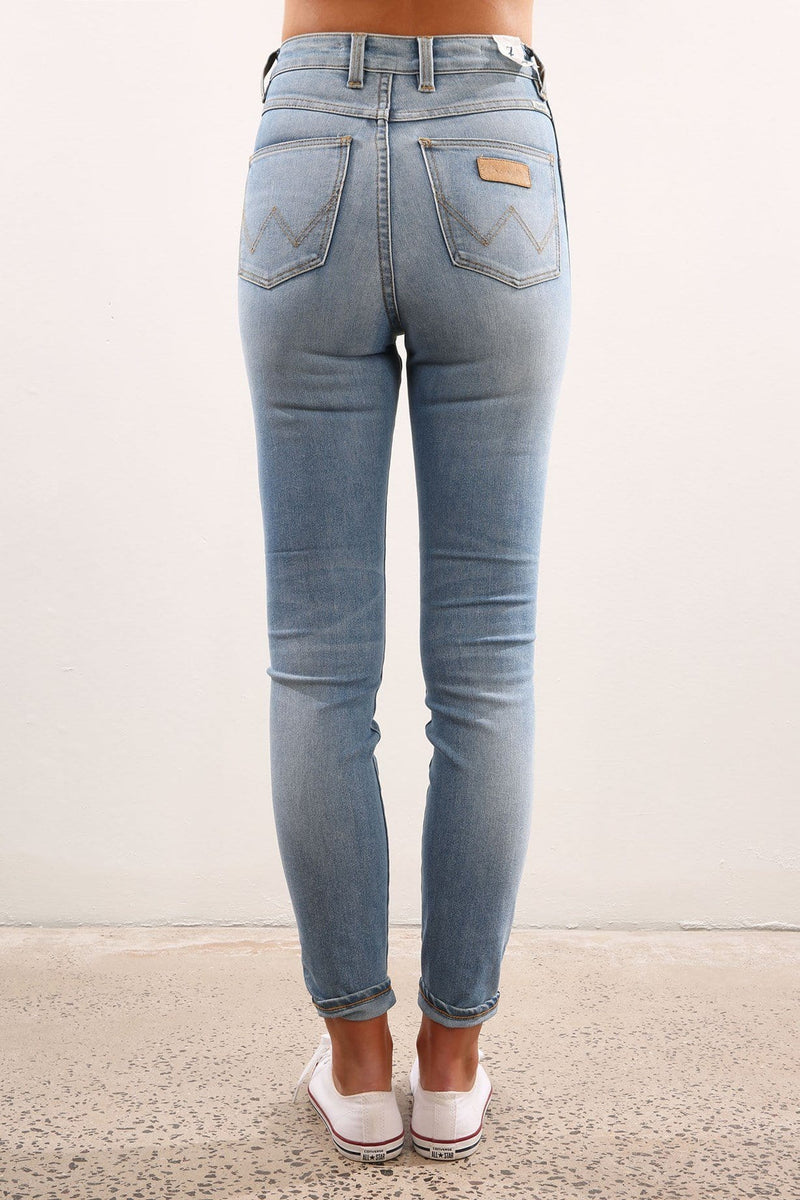 Hi Pins Jean Yesterday Worn Wrangler - Jean Jail