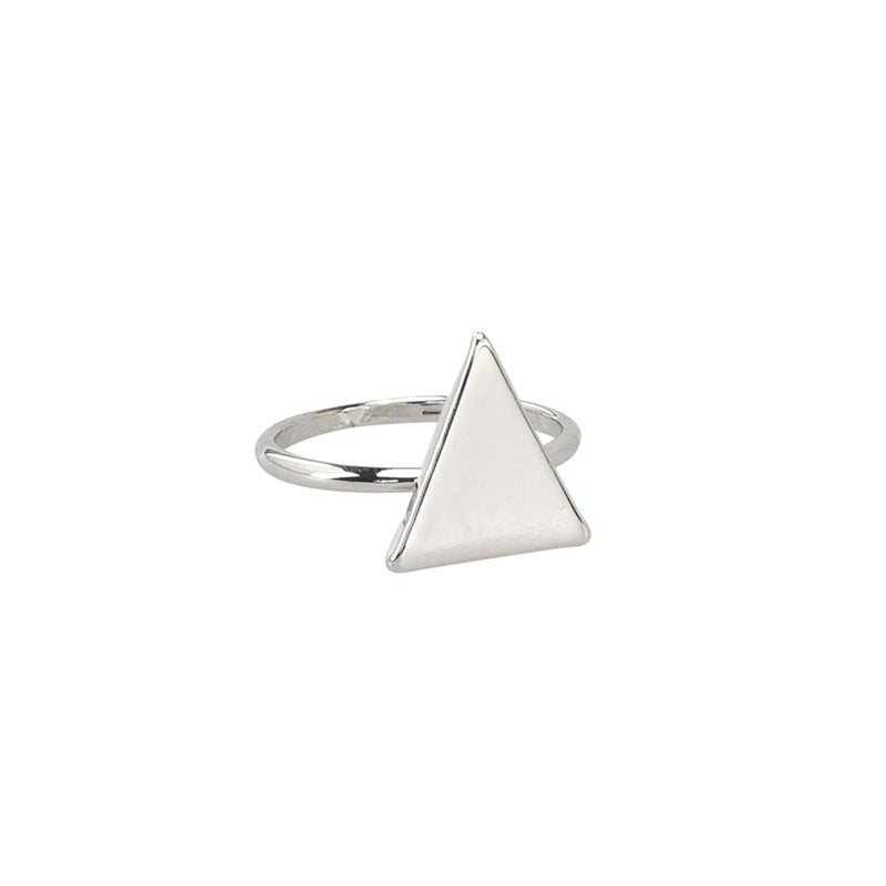 Triangle Ring Silver Jolie & Deen - Jean Jail