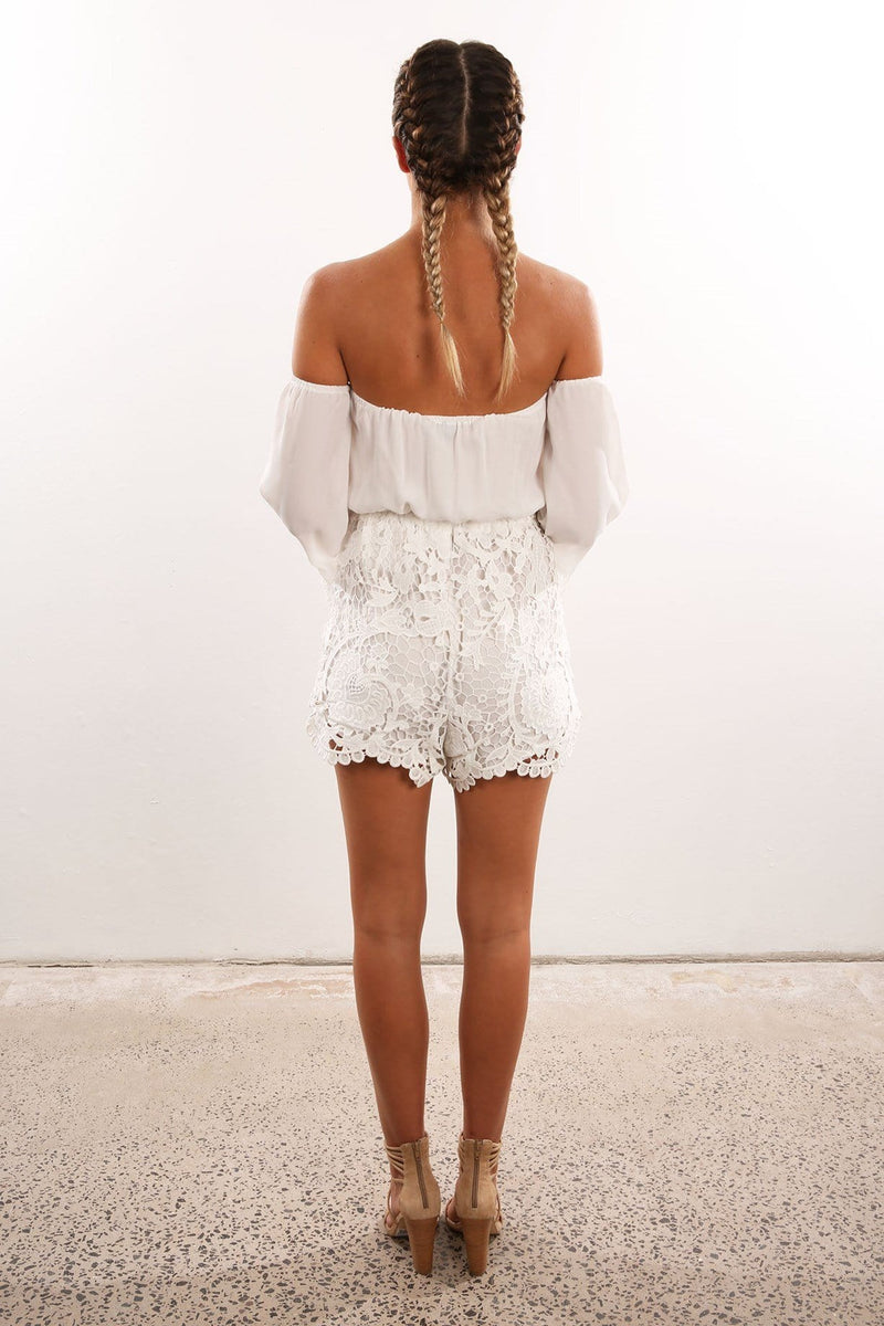 Ultimate Playsuit White Jean Jail - Jean Jail