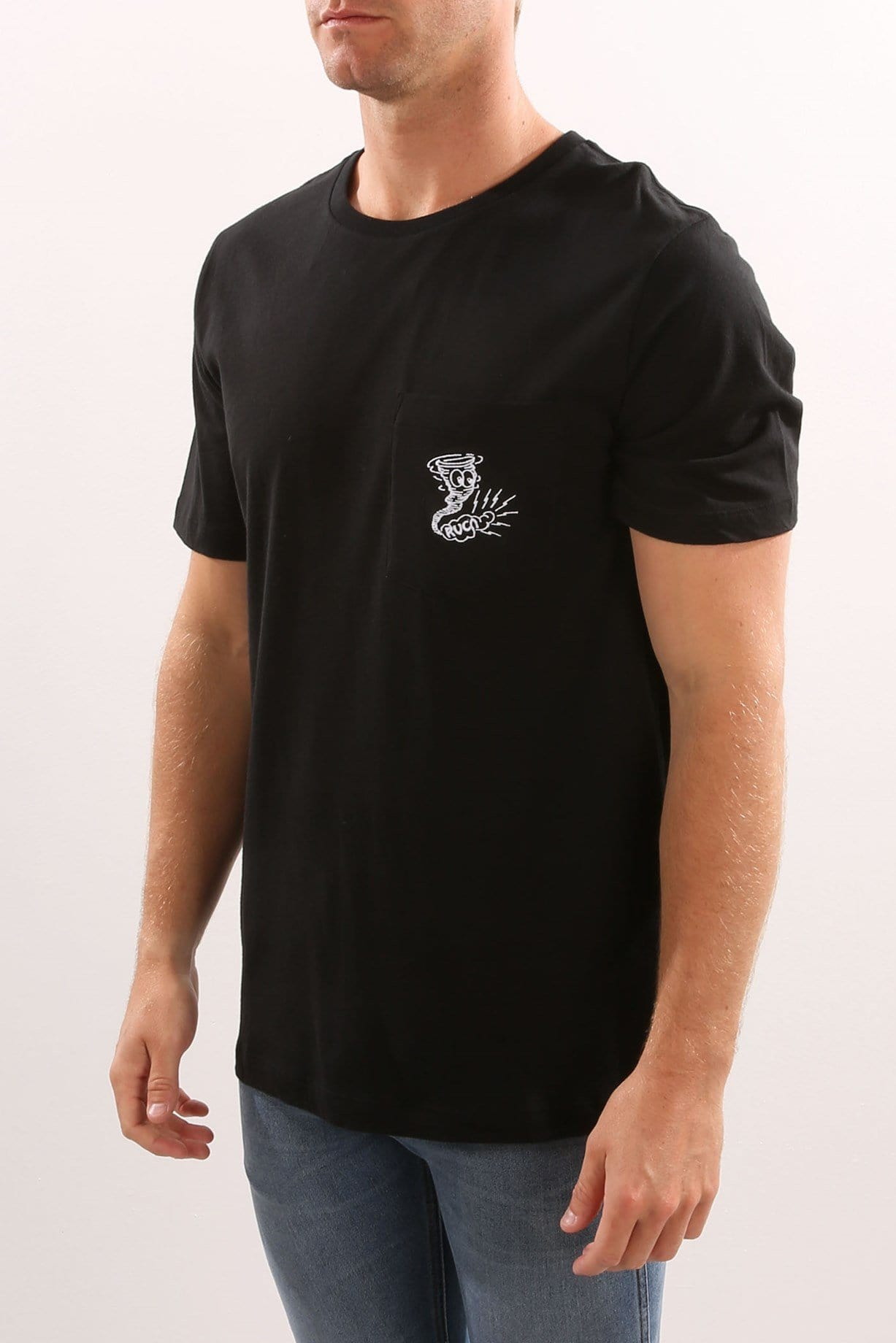 Stormzy Pocket Tee Black