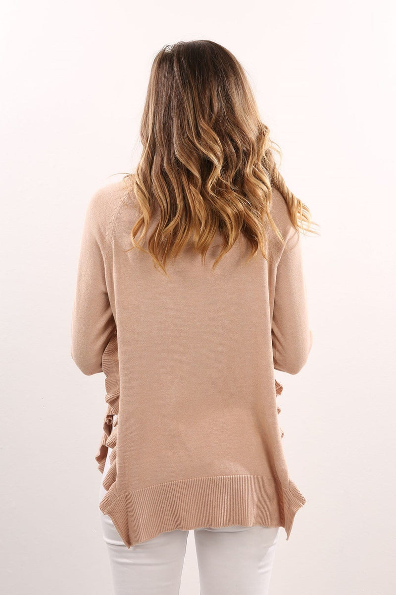 Lazy Days Knit Nude Jean Jail - Jean Jail