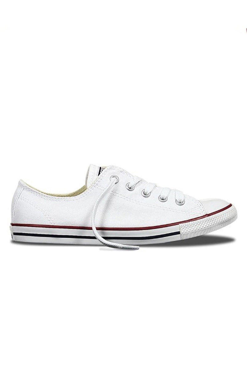 Chuck Taylor Dainty Lo White Converse - Jean Jail