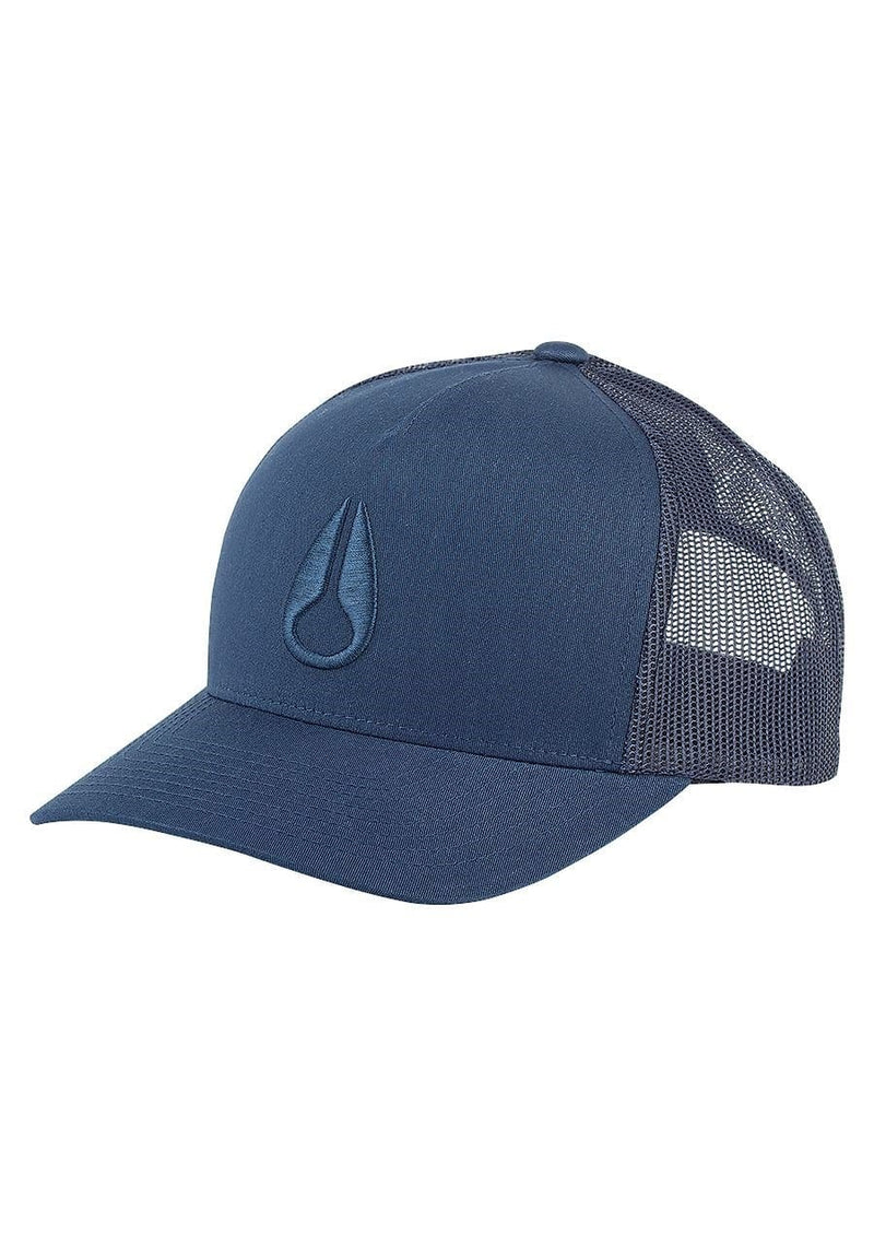 Iconed Trucker Hat All Navy Nixon - Jean Jail