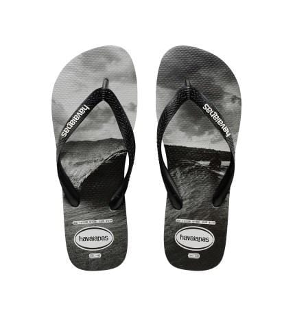 Photoprint Mentawais Black // White Havaianas - Jean Jail