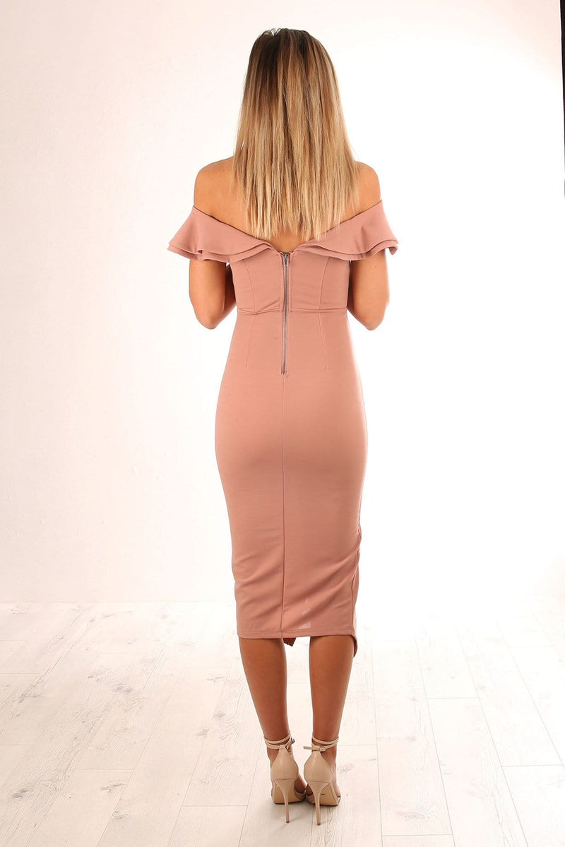 Kennedy Dress Nude Jean Jail - Jean Jail