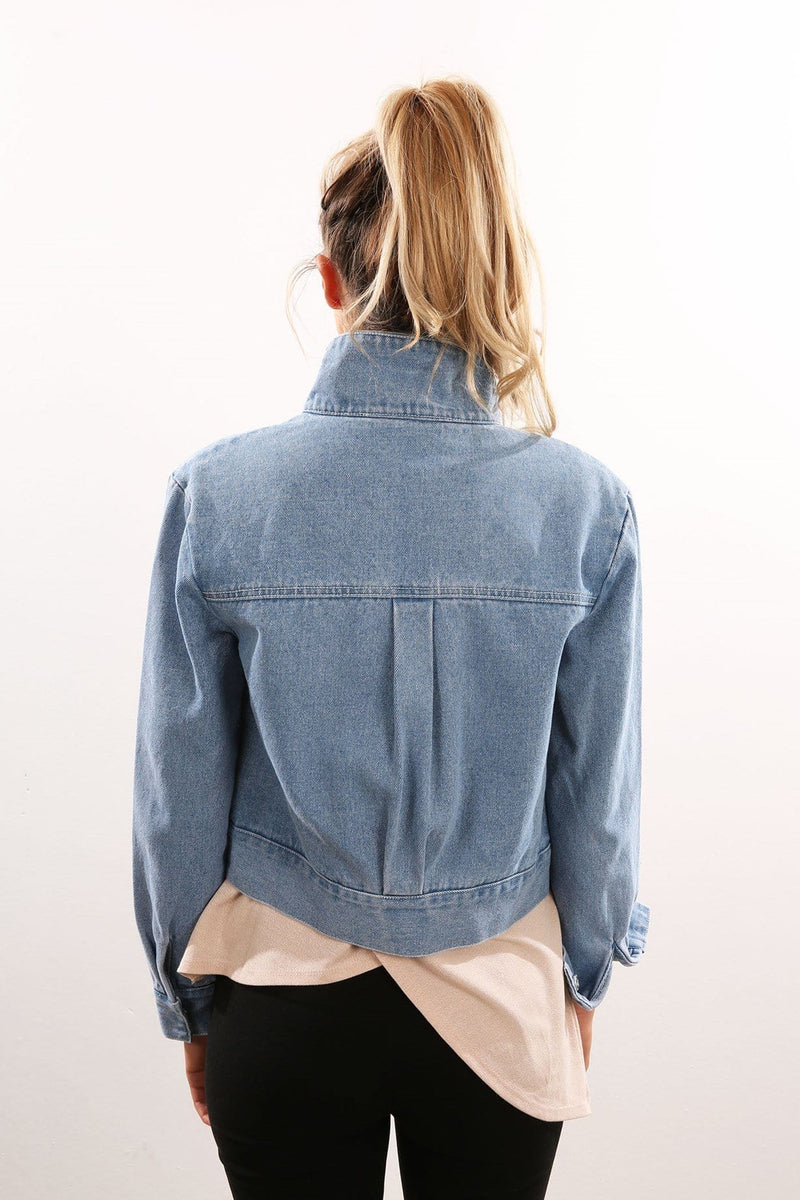 First Light Jacket Washed Denim The Fifth Label - Jean Jail