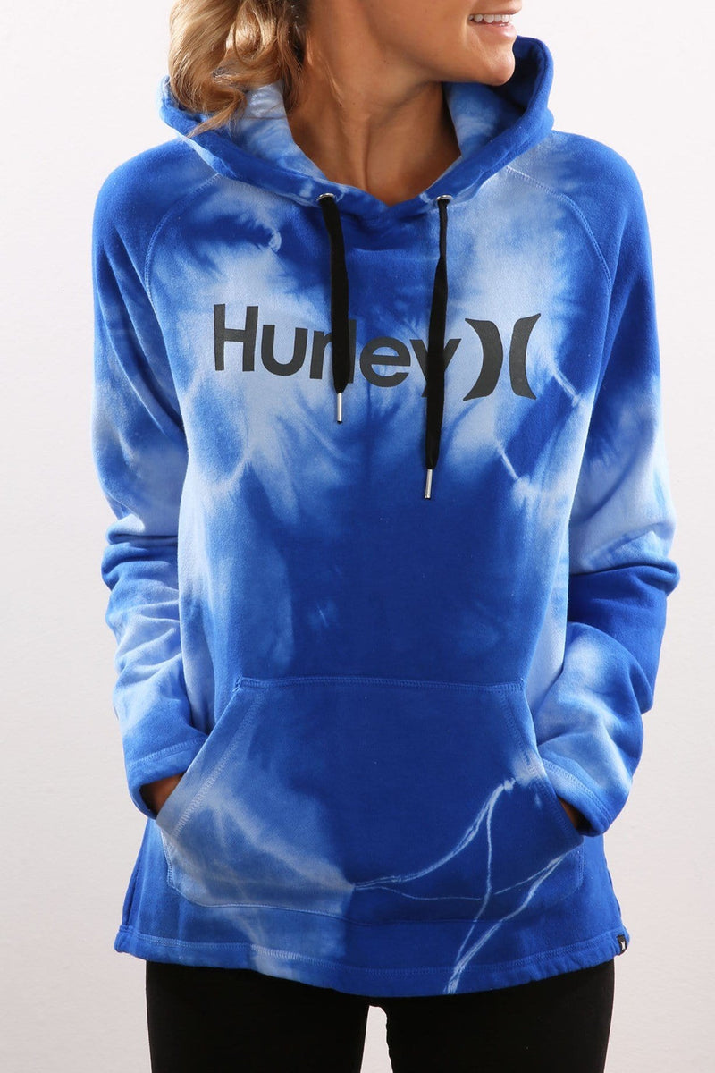 Cloud Wash Pop Fleece Hyper Cobalt Wash Hurley - Jean Jail