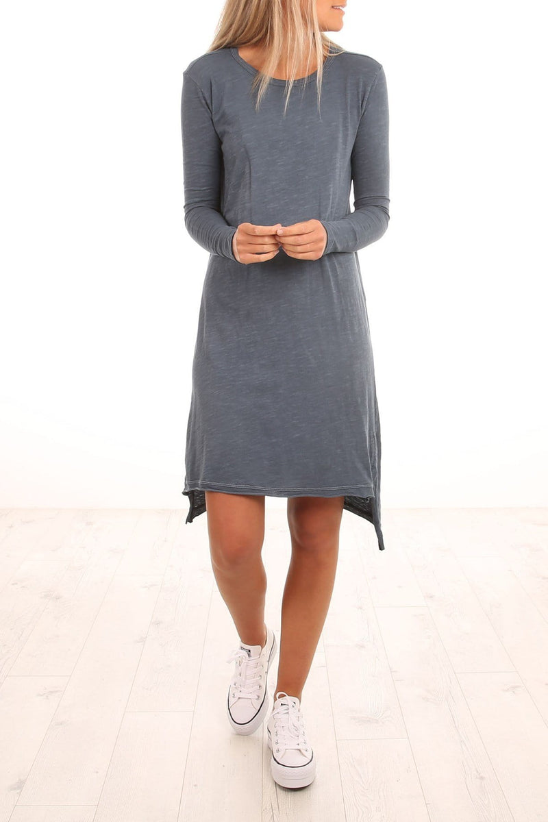 Tilly Tunic Indigo jac + mooki - Jean Jail