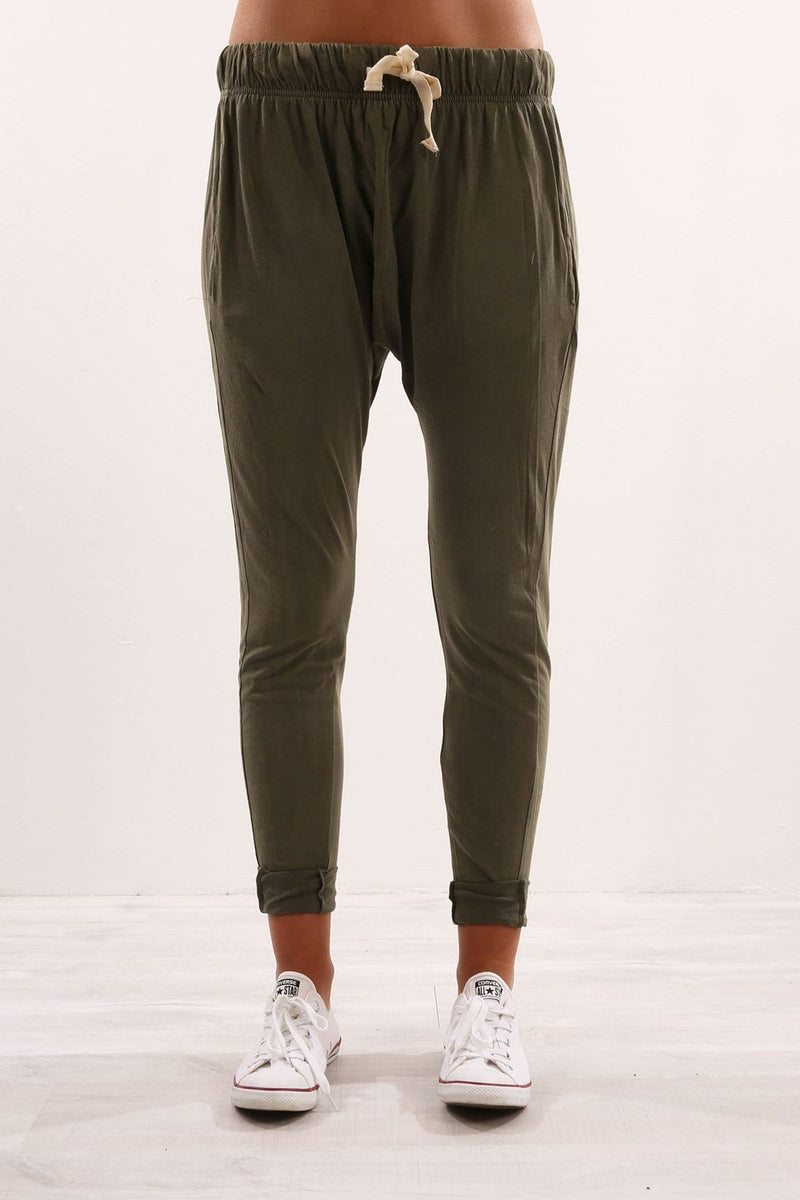 Fluid Pant Green Silent Theory - Jean Jail